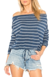 Bella Dahl Tie Front Top - Front cropped