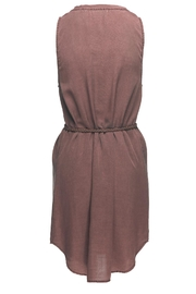 Bella Dahl Tie Tank Dress - Front full body