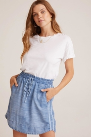 Bella Dahl Trimmed Ruffle Skirt - Front cropped