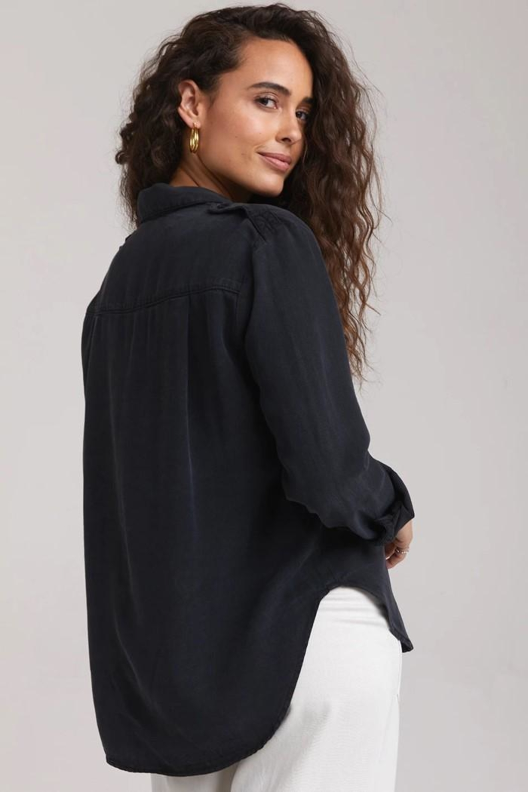 Bella Dahl Utility Button Down - Front Full Image