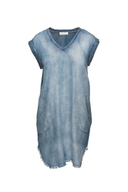 Bella Dahl V-Neck Tee Dress - Product Mini Image