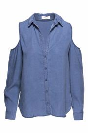 Bella Dahl Washed Indigo Top - Product Mini Image