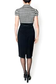 bella Forte Boutique Houndstooth Dress - Front full body