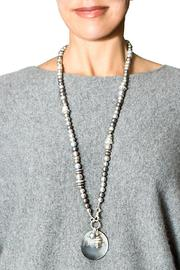 bella Forte Boutique Multi-Colored Grey Pearls - Side cropped
