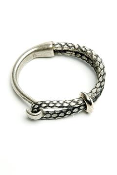 Shoptiques Product: Python Leather Bracelet