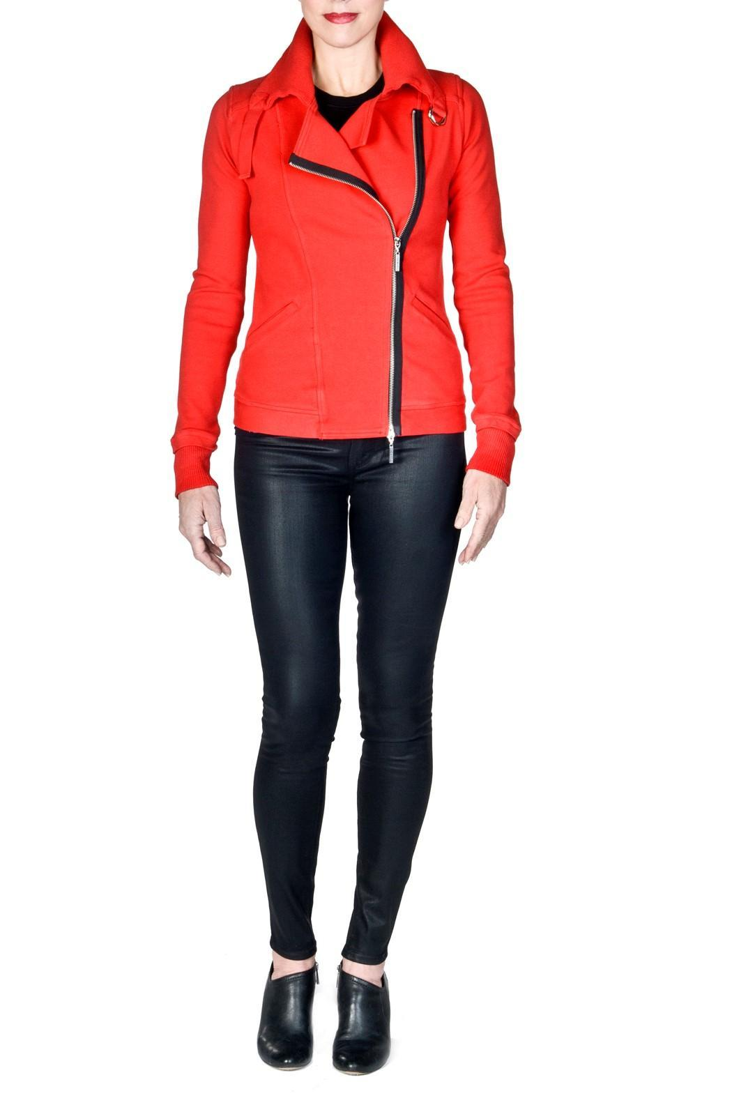 bella Forte Boutique Zipper Jacket - Front Cropped Image