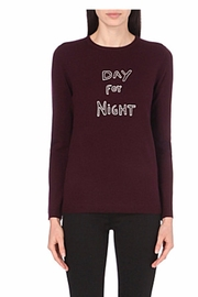 BELLA FREUD Wine Color Sweater - Product Mini Image