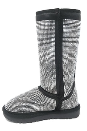 Bella Luna by Springland Footwear Bella Luna Angel Pazzle Women's Boot Black - Front cropped