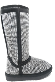 Bella Luna by Springland Footwear Bella Luna Angel Pazzle Women's Boot Black - Side cropped