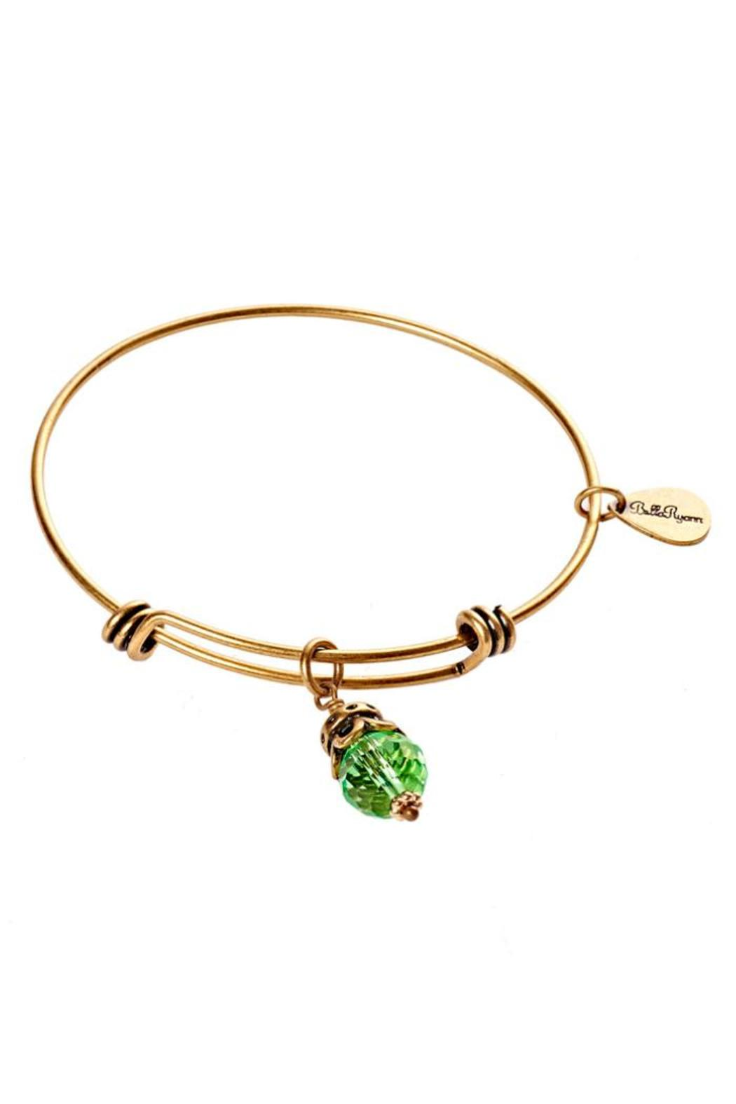 Bella Ryann August Gold Bangle - Front Cropped Image