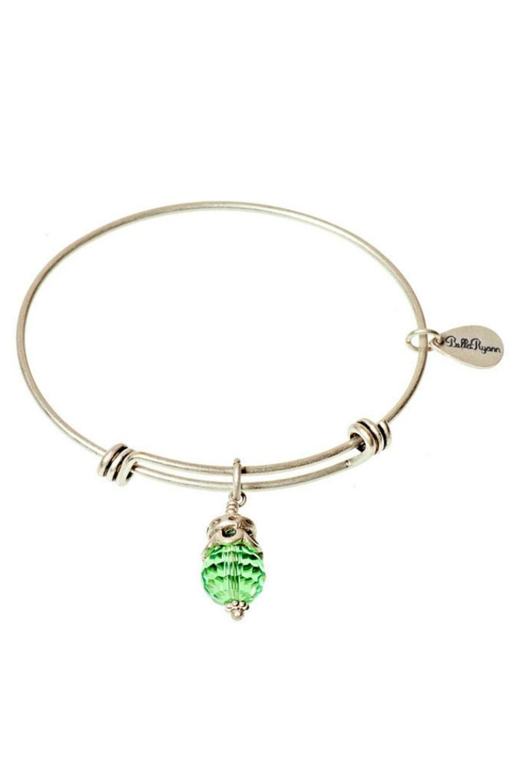 Bella Ryann August Silver Bangle - Main Image
