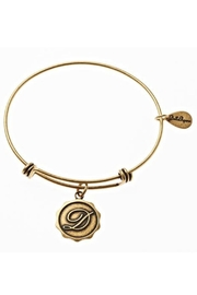 Bella Ryann Initial D Bangle Bracelet - Product Mini Image