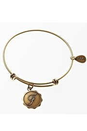 Bella Ryann Initial 'F' Bangle - Product Mini Image