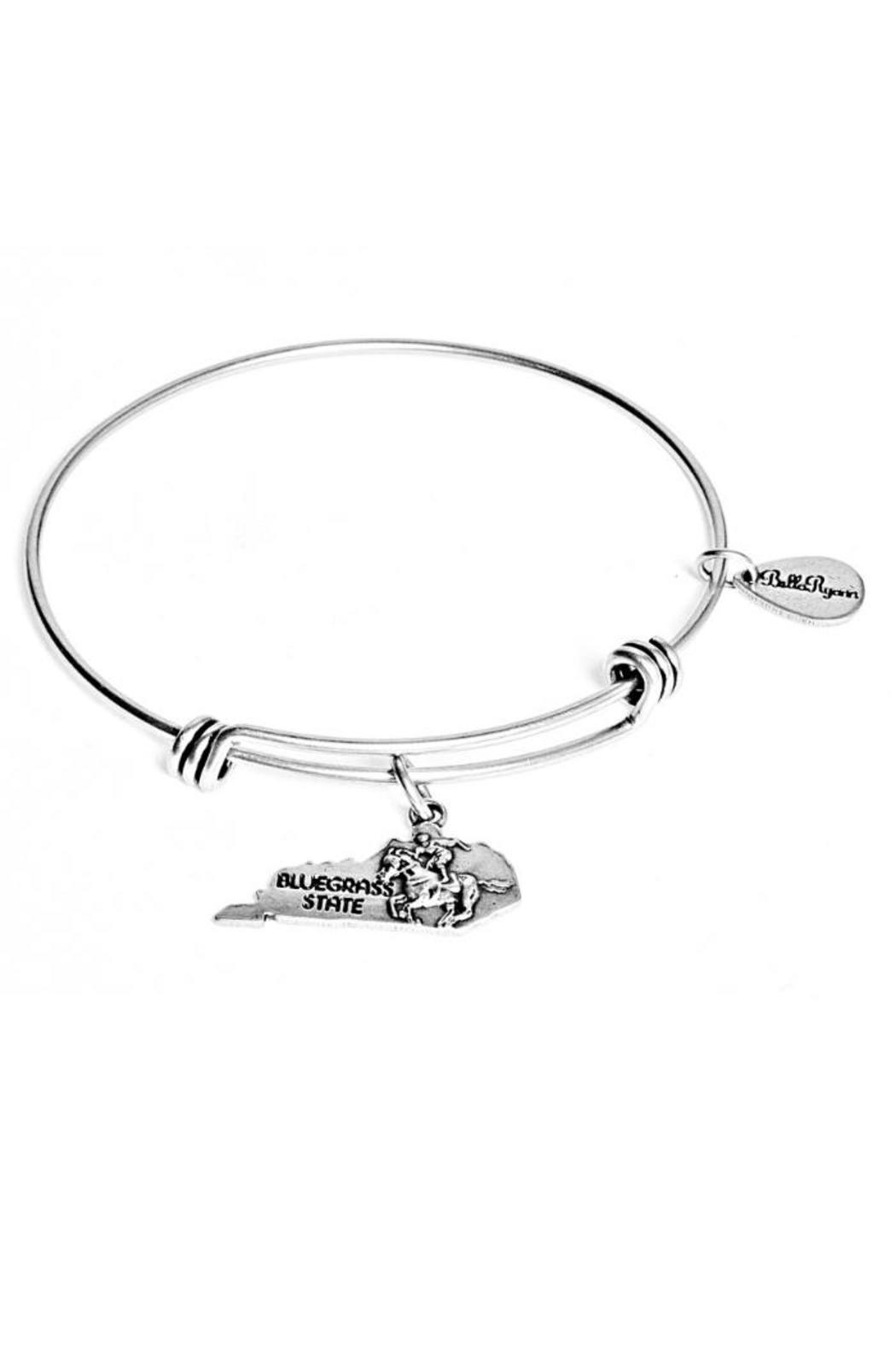 Bella Ryann Silver Bangle Kentucky - Main Image