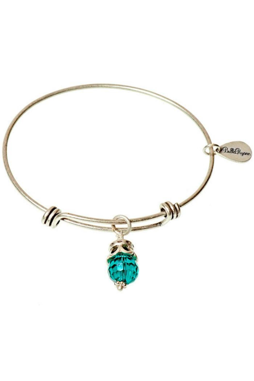 Bella Ryann Silver June Bangle - Front Cropped Image