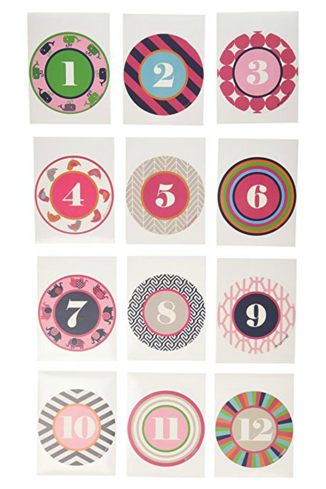 Bella Tunno Milestone Stickers - Front Full Image