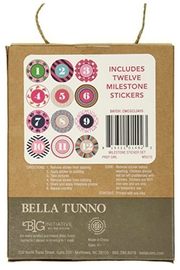 Bella Tunno Milestone Stickers - Side cropped