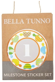 Bella Tunno Milestone Stickers - Front cropped