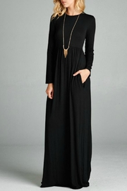 Bellamie Black Empire Maxi - Front cropped