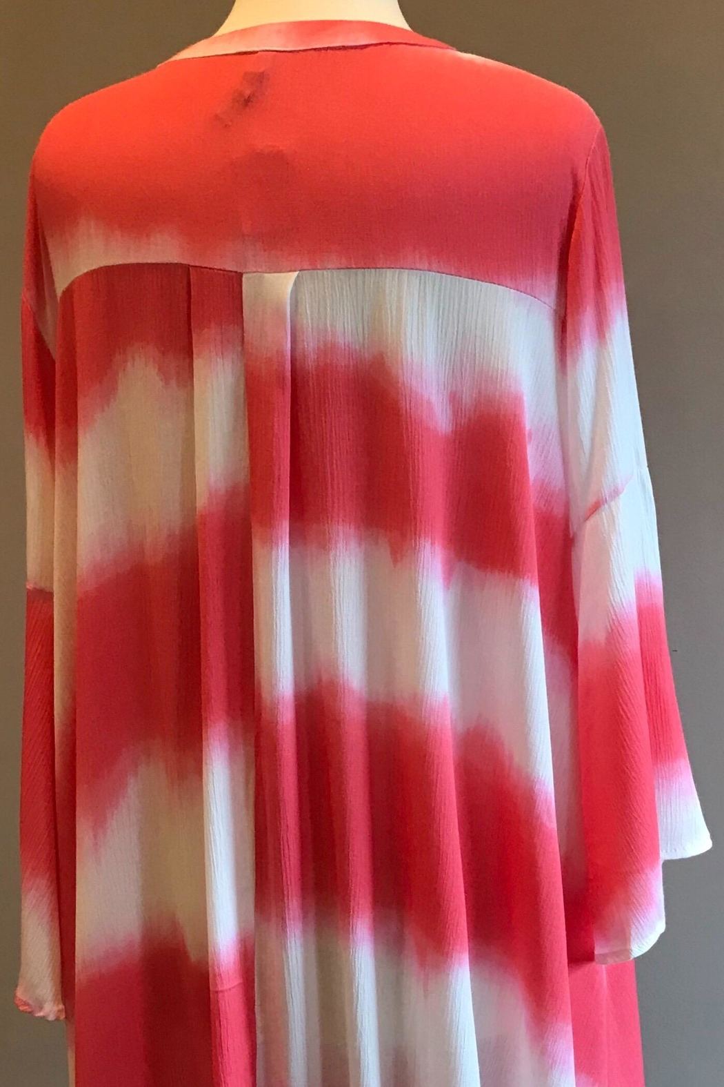 Bellamie Color Dyed Tunic - Front Full Image