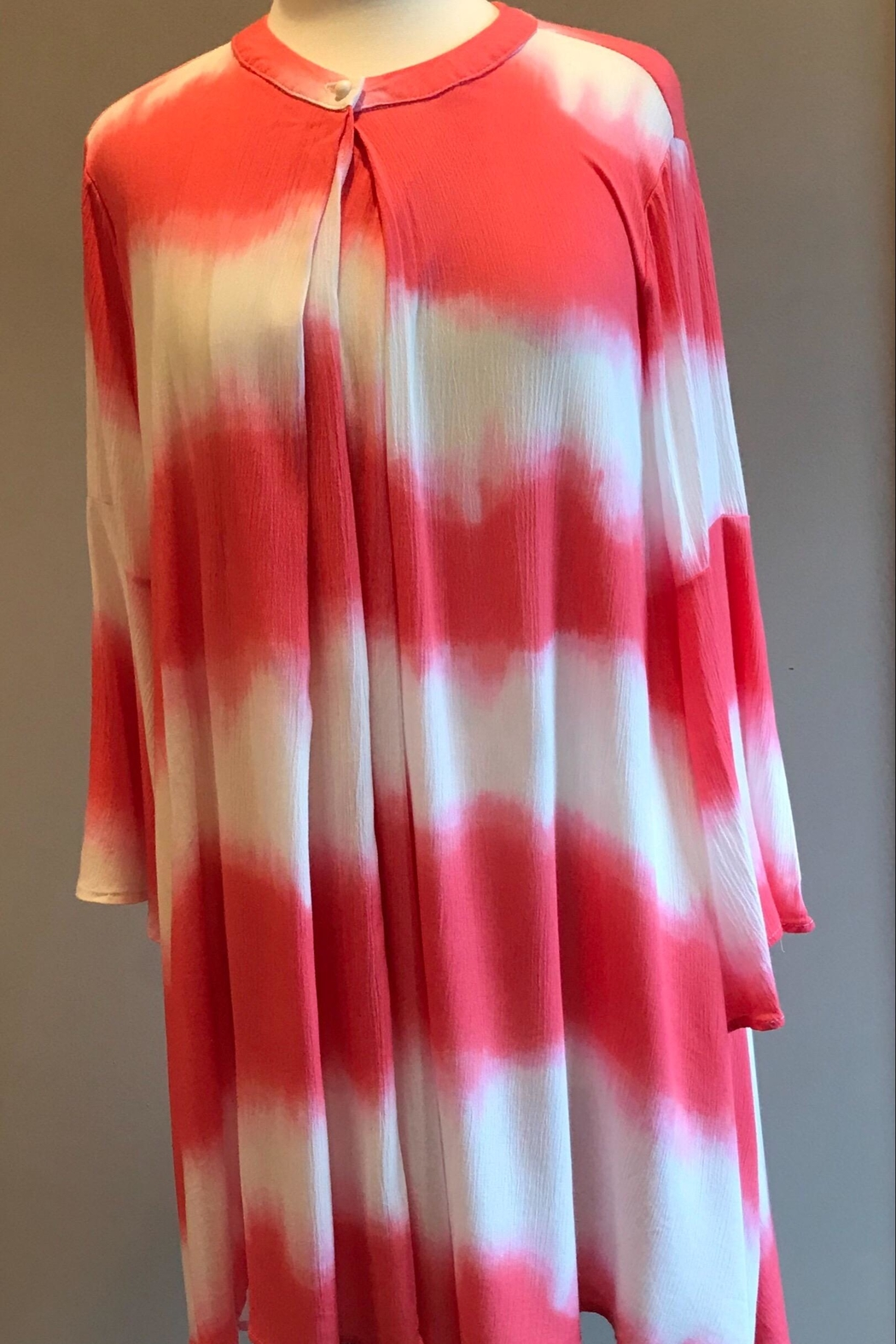 Bellamie Color Dyed Tunic - Main Image