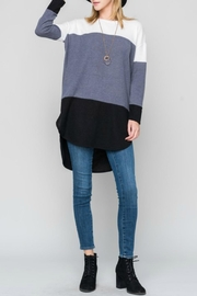 Bellamie Curved Hem Tunic - Product Mini Image