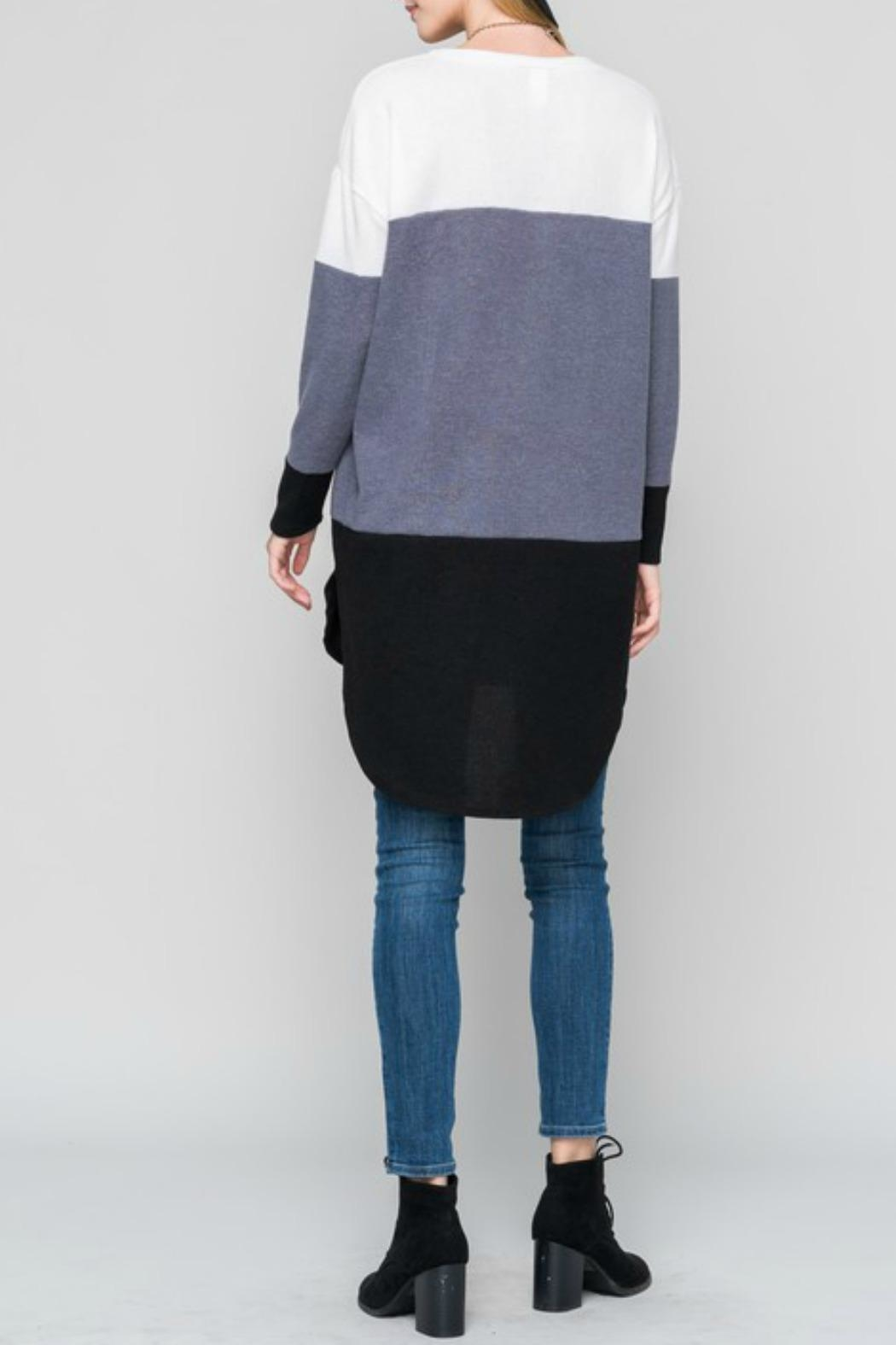 Bellamie Curved Hem Tunic - Front Full Image