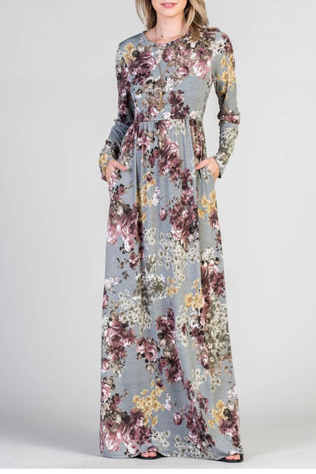 Bellamie Floral Maxi - Front Cropped Image