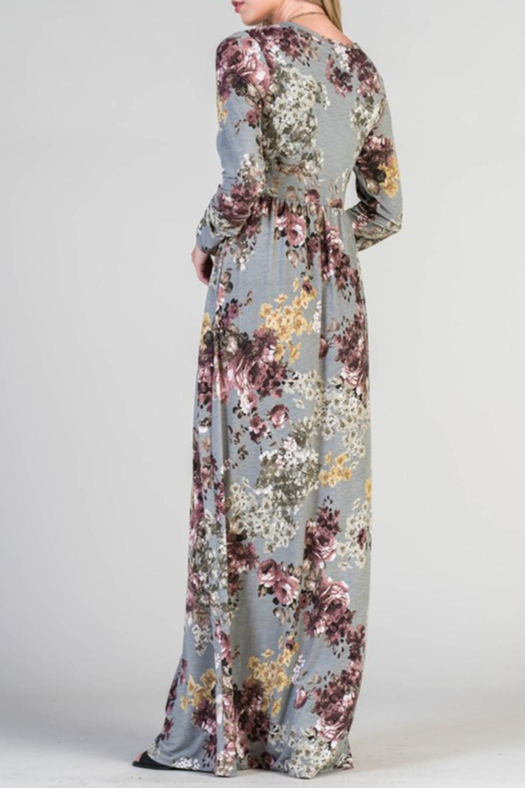 Bellamie Floral Maxi - Front Full Image