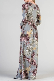 Bellamie Floral Maxi - Front full body