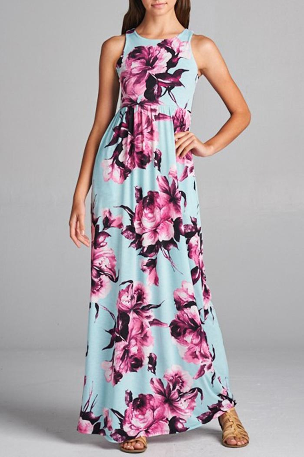 Bellamie Floral Maxi Dress - Main Image