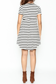 Bellamie Maddie Striped Tunic - Back cropped