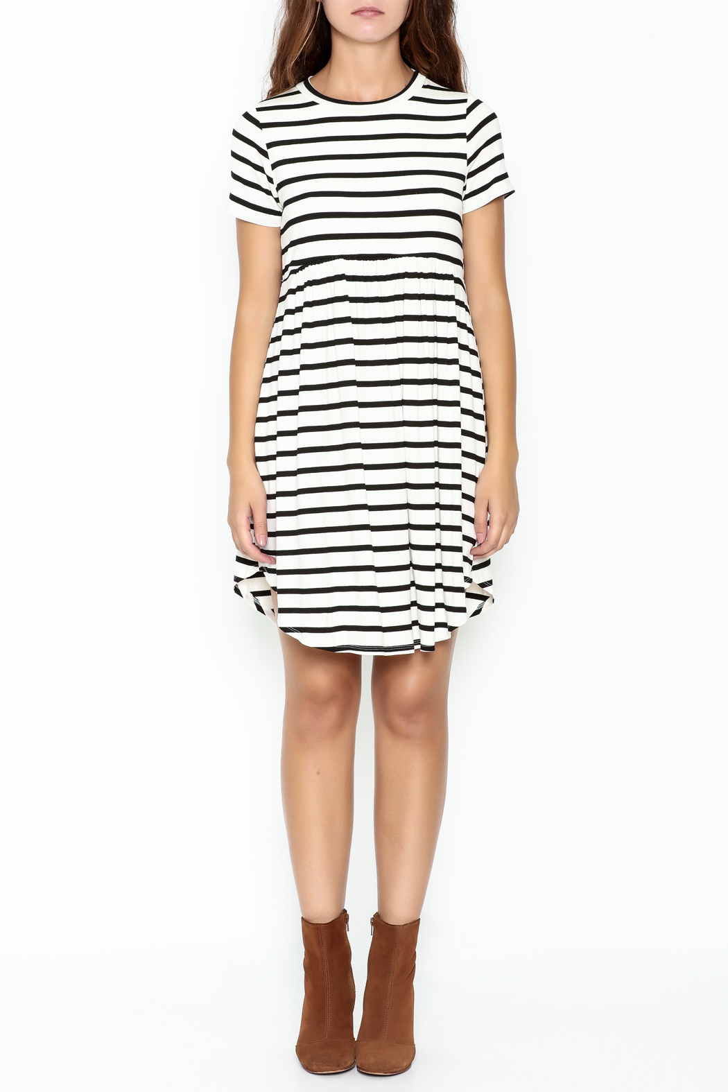 Bellamie Maddie Striped Tunic - Front Full Image