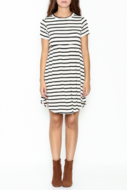 Bellamie Maddie Striped Tunic - Front full body