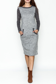 Bellamie Midi Sweater Dress - Front cropped