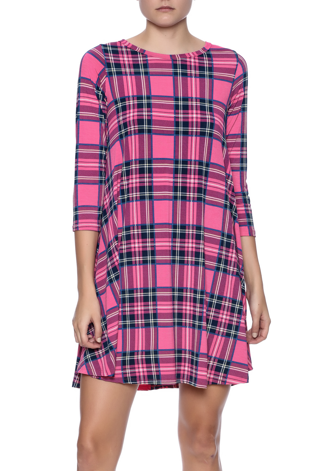 Bellamie Pink Plaid Dress from Arkansas by Vintage Glam and Junque ...