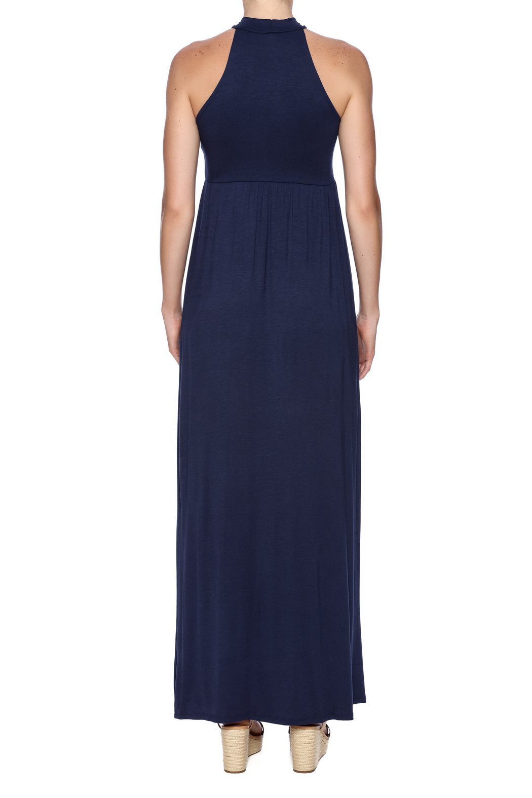 Bellamie Sophia Maxi Dress - Back Cropped Image