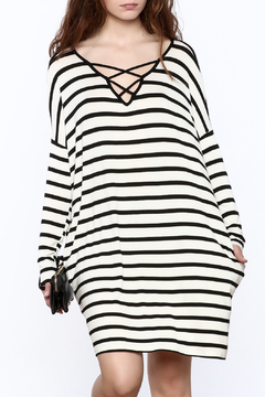Shoptiques Product: Stripe Print Dress