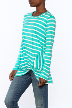 Bellamie Striped Knot Top - Product List Image