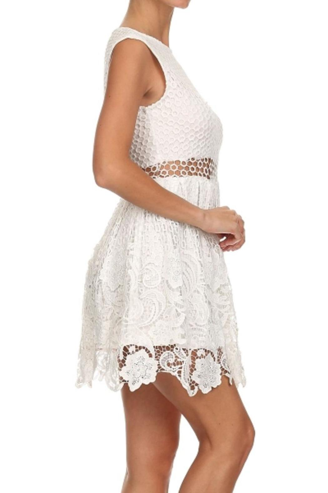 Bellamie The Amy Lace Dress - Front Full Image