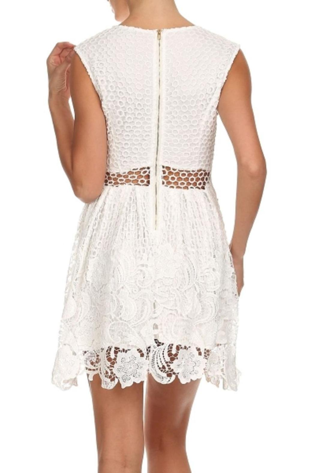 Bellamie The Amy Lace Dress - Back Cropped Image