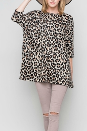 Bellamie The Leopard Tunic - Side cropped