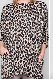 Bellamie The Leopard Tunic - Product Mini Image