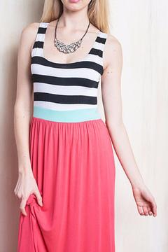 Bellamie The Mariah Striped Dress - Alternate List Image