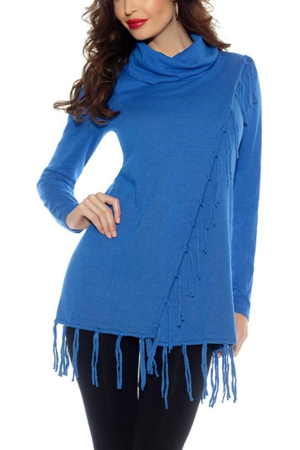 Belldini Fringe Sweater from Kentucky by Red Room Boutique ...