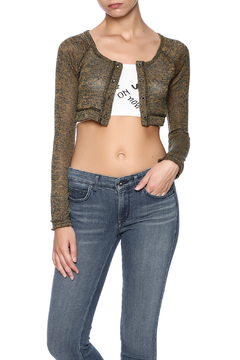 Belle Femme Fashions Cropped Knit Bolero - Product List Image