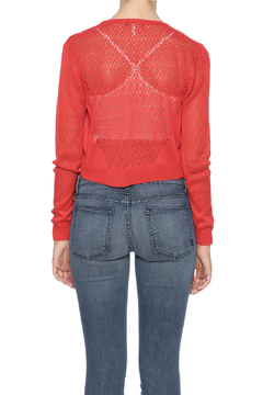 Belle Femme Fashions Knitted Cropped Cardigan - Alternate List Image