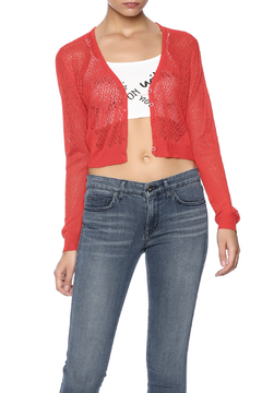 Shoptiques Product: Knitted Cropped Cardigan