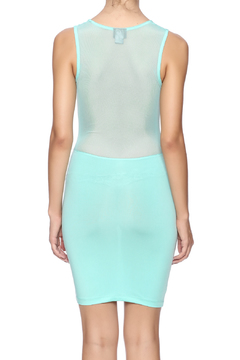 Shoptiques Product: Mesh Contrast Dress