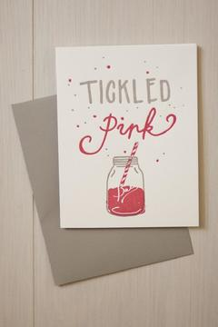 Shoptiques Product: Tickled Pink Card